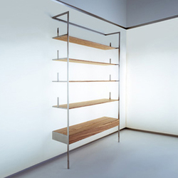 Flag bookcase | Shelving systems | Tagliabue