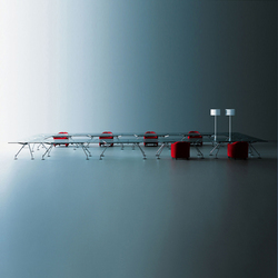 Nomos | Conference table systems | Tecno