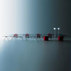 Nomos | Tables modulaires | Tecno