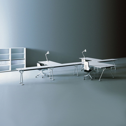 Nomos | Desking systems | Tecno