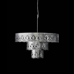 Gladys Chandelier stainless steel | General lighting | Bsweden