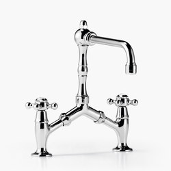 Madison - Two-hole bridge mixer | Wash-basin taps | Dornbracht