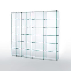 Space | Shelving systems | Glas Italia