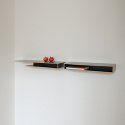 b4 double wood | Wall shelves | Svitalia, Design, and