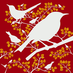 Birds | Wall coverings / wallpapers | Designwall
