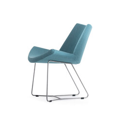Lotus Easy Chair | Sedie visitatori | +Halle
