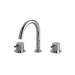 KV10 - Three-hole mixer | Rubinetteria per lavabi | VOLA