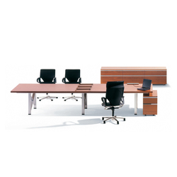 I|X Table natural Theme | Bureaux de direction | Nurus
