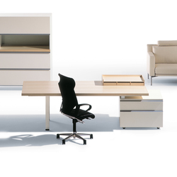 I|X Table white Theme | Bureaux de direction | Nurus
