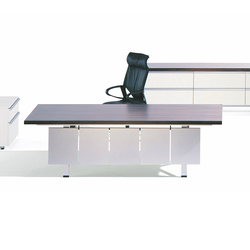 I|X Table white Theme | Direktionstische | Nurus