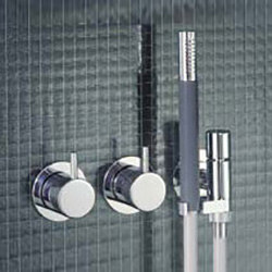 671 - Two-handle mixer | Shower controls | VOLA