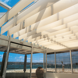 Skylight Shading System Silent Gliss 8800 | Winter garden systems | Silent Gliss