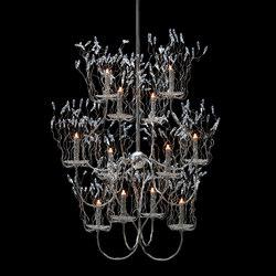 Candles and Spirits chandelier | Lustres suspendus | Brand van Egmond