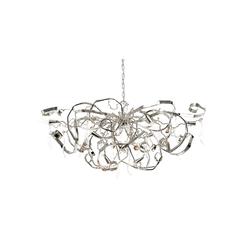 Delphinium chandelier oval | Ceiling suspended chandeliers | Brand van Egmond