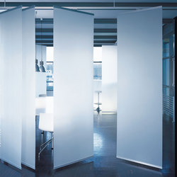 Profil 33 open-plan room divider | Space dividers | Rosso