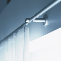 Profil 18 curtain system | Wall fixed systems | Rosso