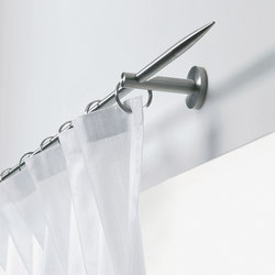 Stainless steel rods | Curtain fittings | Rosso