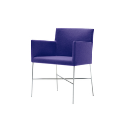 Crossoft | CRSS/2 | Visitors chairs / Side chairs | Cappellini