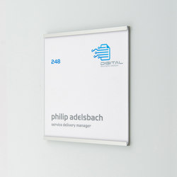 quintessenz Door plate | Room signs | Meng Informationstechnik