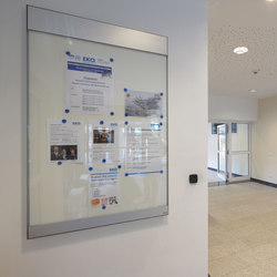 quintessenz flat display case | Wayfinding | Meng Informationstechnik