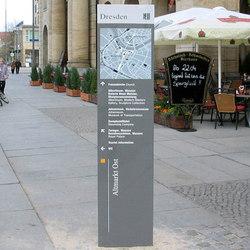 quintessenz Monolithe | Totems d'affichage | Meng Informationstechnik