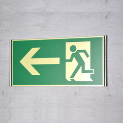 tube+panel Emergency sign | Symbols / Signs | Meng Informationstechnik