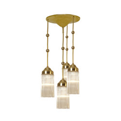 MB3-4FL pendant lamp | General lighting | Woka