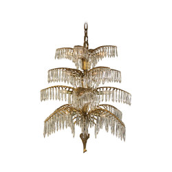 Palme chandelier | Suspended lights | Woka