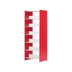Littbus Wood / Customised | Library shelving systems | Lustrum