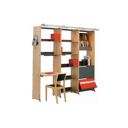 Littbus Wood / Accessories | Librerie da biblioteca | Lustrum