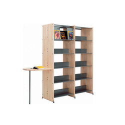 Littbus Wood | Library shelving systems | Lustrum