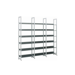 Littbus Steel / Single sided 290x2044 mm | Library shelving systems | Lustrum