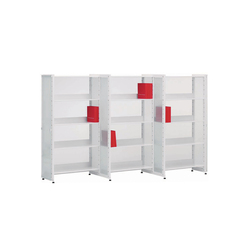 Littbus Glass / Zic Zac | Library shelving systems | Lustrum