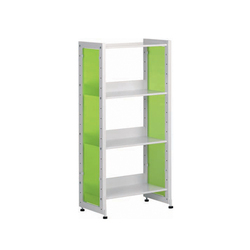 Littbus Glass / Single sided 290x1084 mm | Library shelving systems | Lustrum