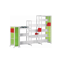 Littbus Glass | Library shelving systems | Lustrum