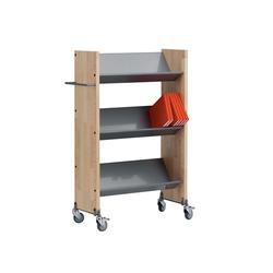 Modules / Book trolley - Mobil 1 | Book trolleys | Lustrum