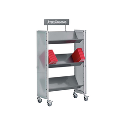 Modules / Book trolley - Mobil 1 | Carrelli da biblioteca | Lustrum