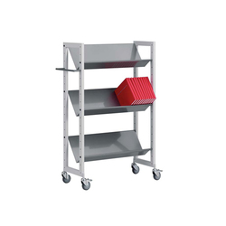 Modules / Book trolley - Mobil 1 | Chariots de livres | Lustrum