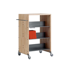 Modules / Book trolley - Mobil 2 | Chariots de livres | Lustrum