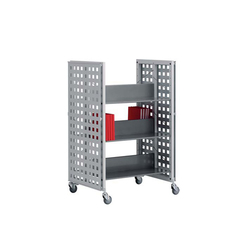 Modules / Book trolley - Mobil 2 | Trolleys | Lustrum