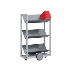 Modules / Book trolley - Mobil 4 | Bücherwagen | Lustrum