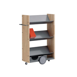 Modules / Book trolley - Mobil 4 | Trolleys | Lustrum