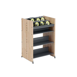Modules / CD display (single sided) | Shelving | Lustrum
