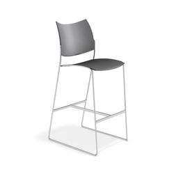 Curvy Barstool 1288/07 | Bar stools | Casala