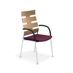 Keep Moving 2491/11 | Visitors chairs / Side chairs | Casala