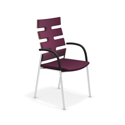 Keep Moving 2492/11 | Visitors chairs / Side chairs | Casala