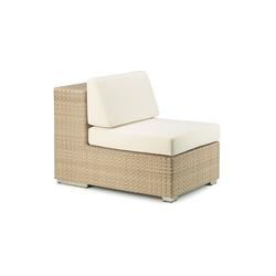 Lounge Modulo centrale | Poltrone da giardino | DEDON