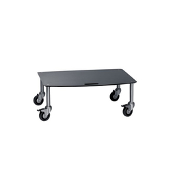 Base TV-Trolley with 1 shelf | Multimedia Trolleys | Cascando