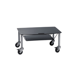Base TV-Trolley with DVD tray | Multimedia trolleys | Cascando