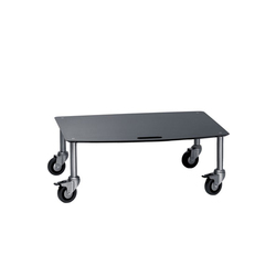 BigBase TV-Trolley with 1 shelf | Multimedia trolleys | Cascando